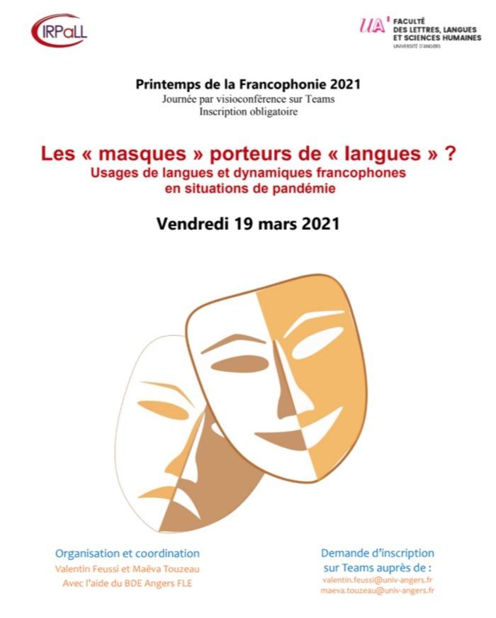 Usages de langues et dynamiques francophones en situations de pandémie