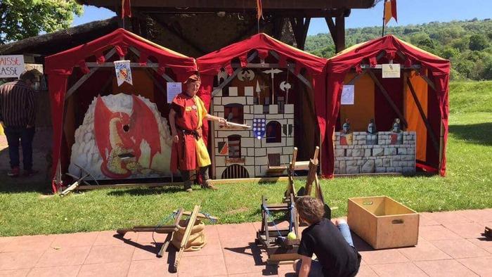 Journées du patrimoine 2019 - Jeux médiévaux pour les enfants