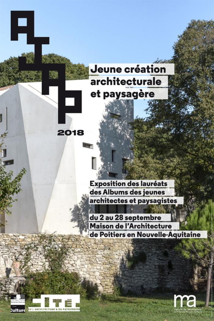 Journées du patrimoine 2019 - Exposition : Albums des Jeunes Architectes et Paysagistes - AJAP 2018
