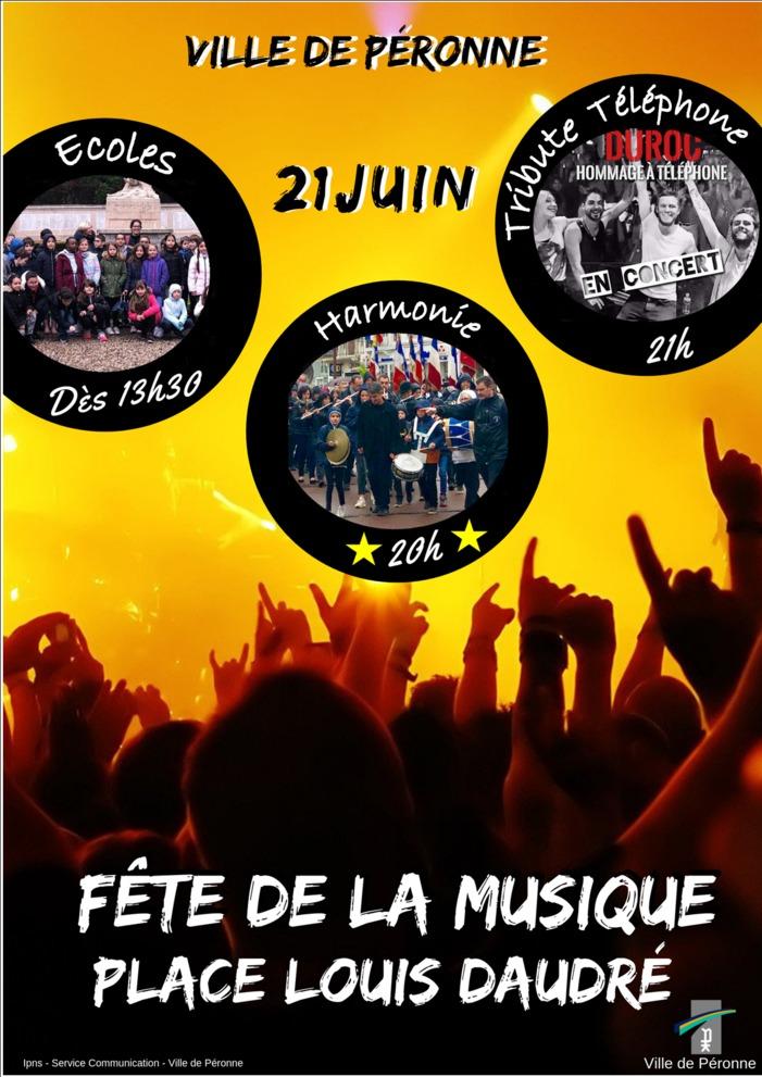 Fête de la musique 2019 - L'Harmonie municipale // Groupe Duroc