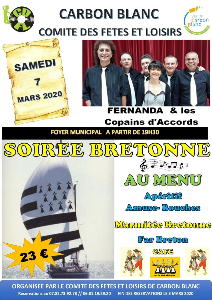 Soirée bretonne par le comité des fêtes et de loisirs