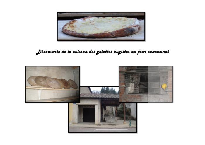 Journées du patrimoine 2020 - Cuisson de galettes au four communal