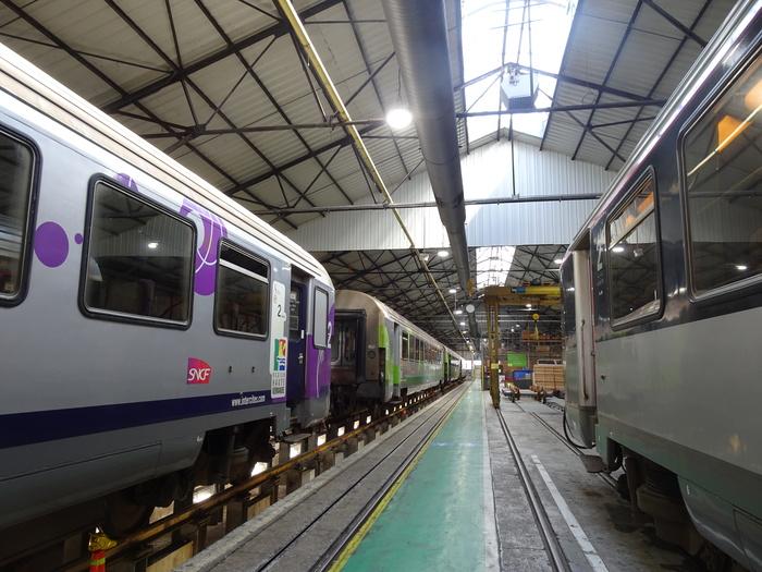 Journées du patrimoine 2020 - ANNULÉ - Visite guidée d'un atelier SNCF de maintenance des trains