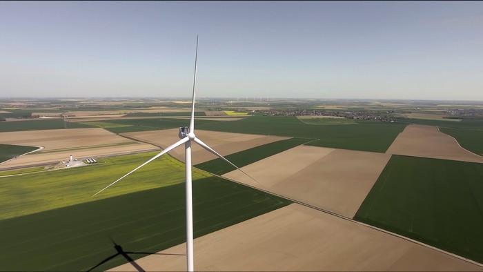 Journées du patrimoine 2019 - Inauguration du parc éolien du chemin d'Avesnes à Iwuy