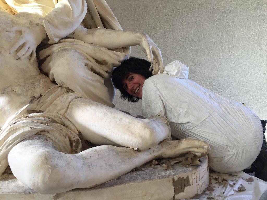 Apéro découverte du métier de conservateur/restaurateur de sculptures (pierre, plâtre, bois, polychromies, bronze historique.)