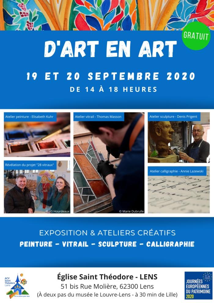 Journées du patrimoine 2020 - D'Art en Art