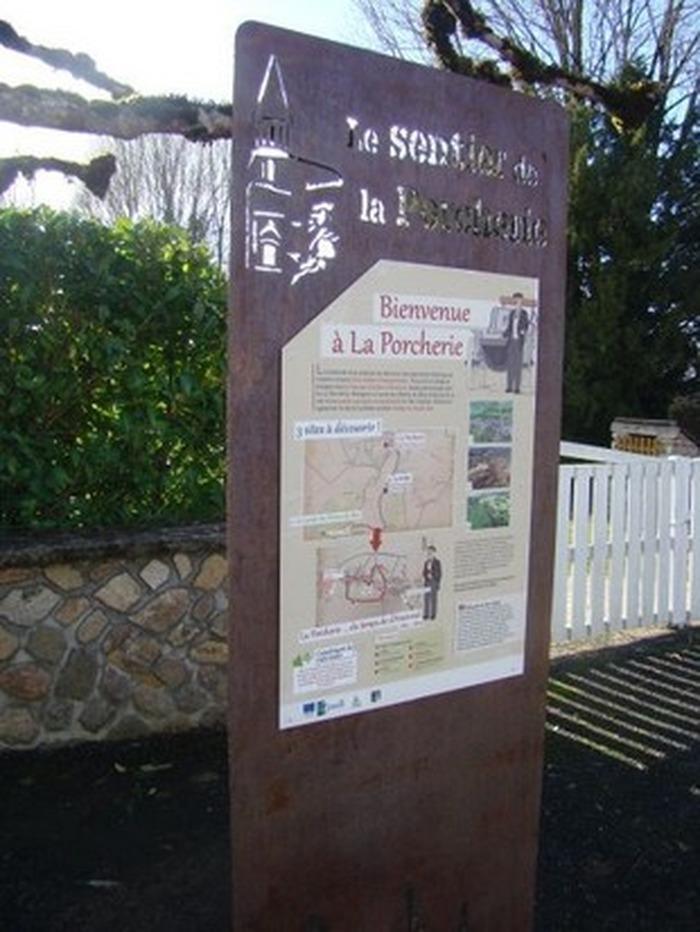 Journées du patrimoine 2020 - Circuit découverte du bourg sur la commune de La Porcherie