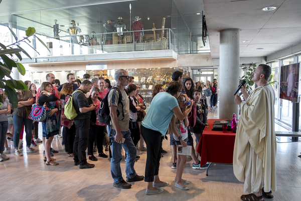 Nuit des musées 2019 -SPECTACLE Homére, Iliade