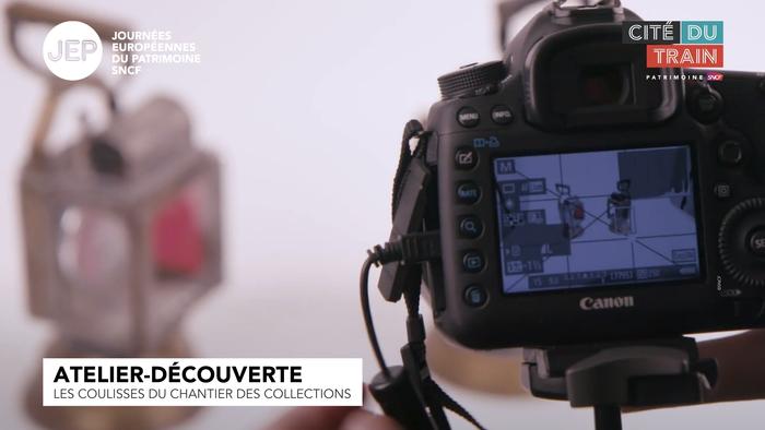 Journées du patrimoine 2020 - Atelier découverte : Les coulisses du chantier des collections de la Cité du Train