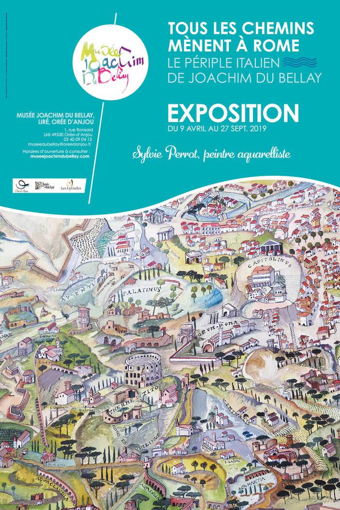 Journées du patrimoine 2019 - Exposition d'aquarelles