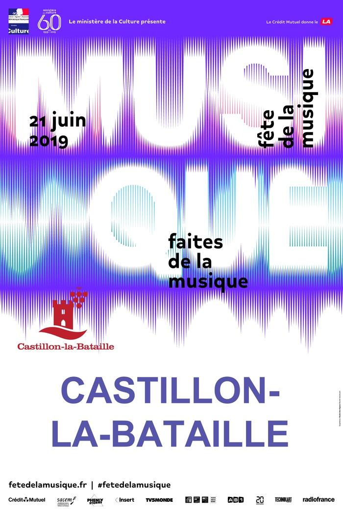 Fête de la musique 2019 - Plateau de l'école de musique / Jacques Chambon / Duo
