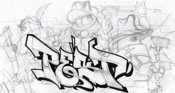 Journées du patrimoine 2019 - Atelier lettrage et graffiti avec l'artiste PEST