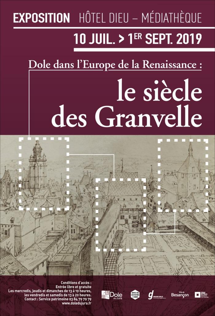 Journées du patrimoine 2019 - Dole à l'époque de la Renaissance, le siècle des Granvelle
