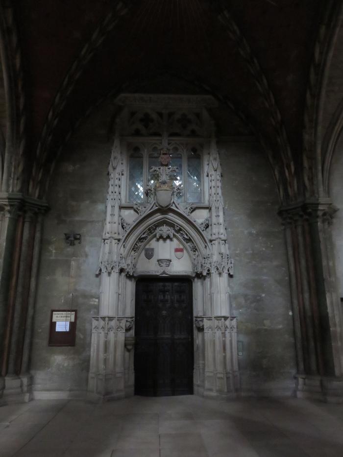 Journées du patrimoine 2019 - Visite de la sacristie du chapître