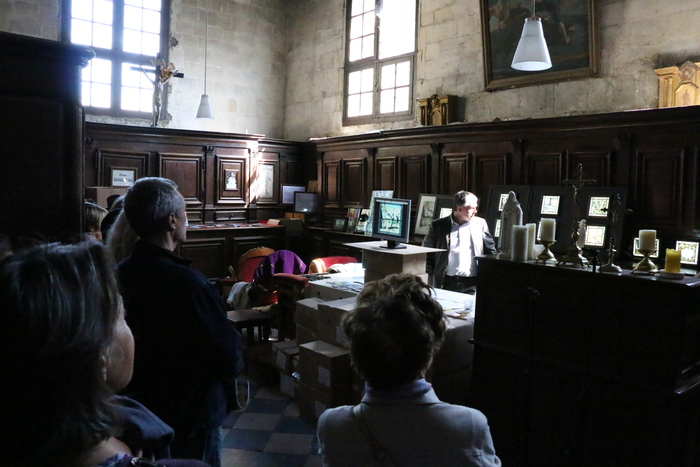 Journées du patrimoine 2019 - Visite libre de la sacristie de l'Abbatiale de la Trinité