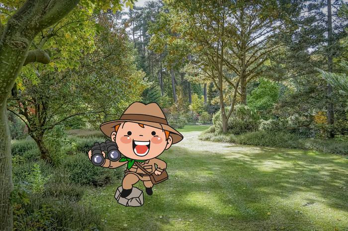 Jeu de piste pour les 5-12 ans.       Les enfants deviennent des découvreurs de plantes et partent en expédition dans les collections de l'Arboretum.