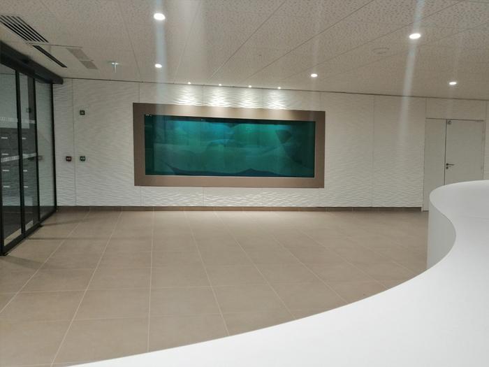 Journées du patrimoine 2019 - Oeuvre de Guillaume Bottazzi, émaux sur verre