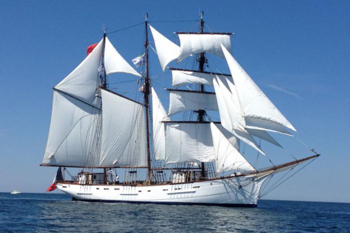 Escale du voilier Le Marité