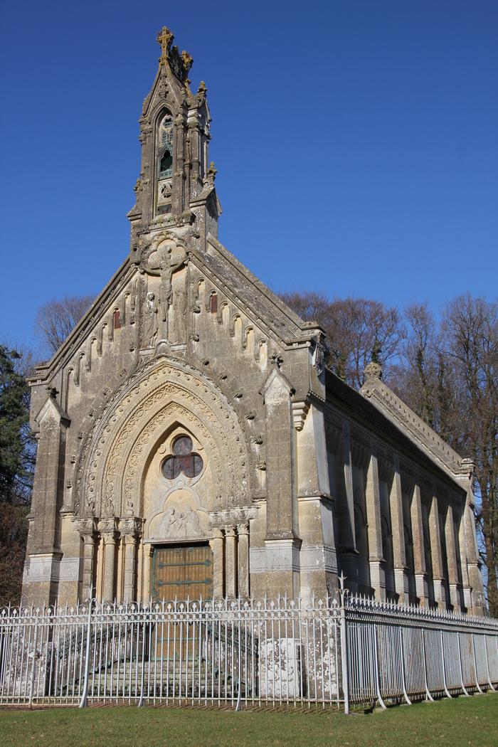 Journées du patrimoine 2019 - Visite d'une chapelle funéraire du XIXe siècle