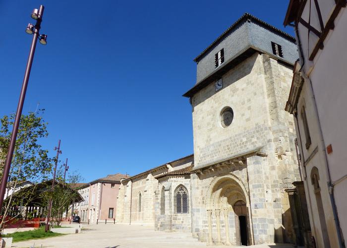 Journées du patrimoine 2019 - Visite libre de la Collégiale Saint-Vincent