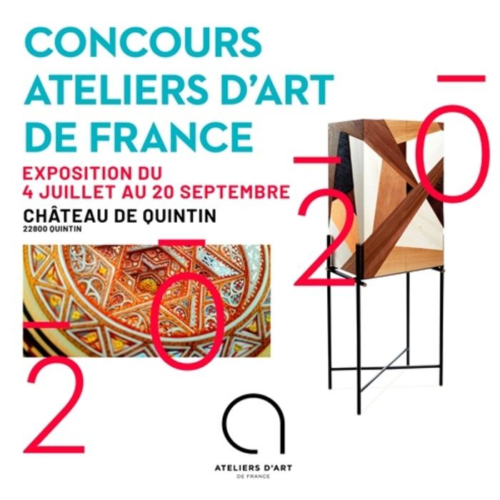 Journées du patrimoine 2020 - Exposition Concours Ateliers d'Art de France - Château de Quintin