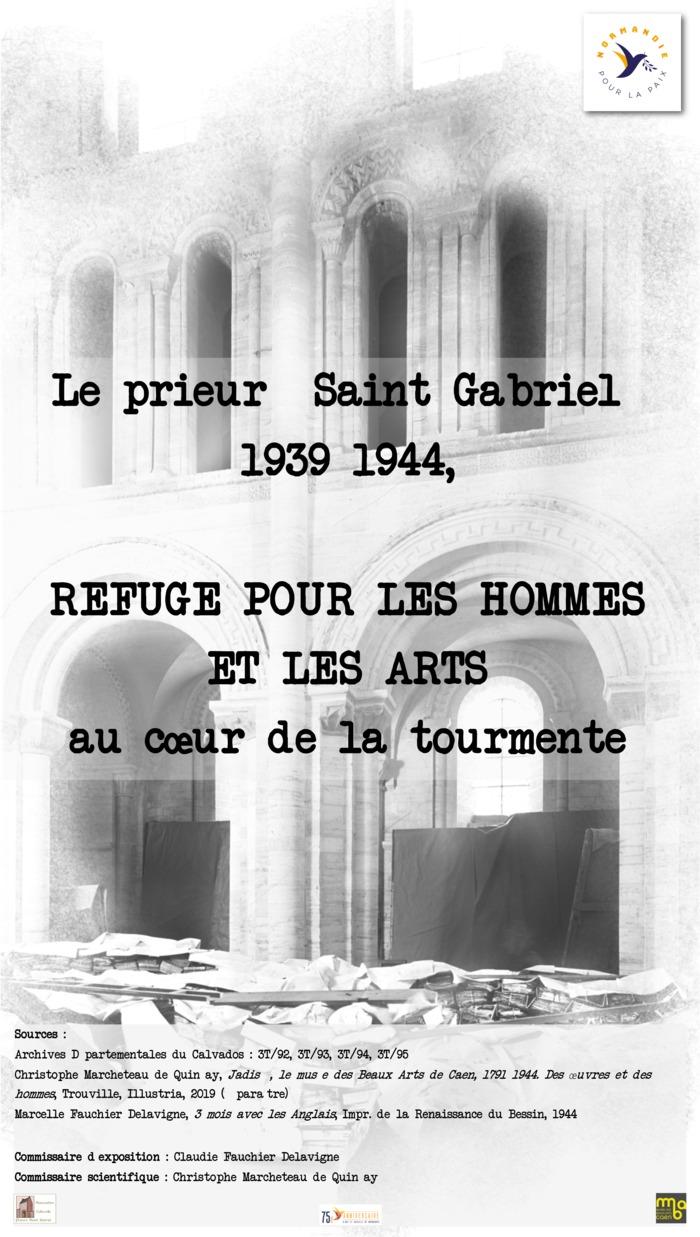 Journées du patrimoine 2019 - Exposition : Le prieuré Saint Gabriel 1939-1944, refuge pour les hommes et les arts au cœur de la tourmente