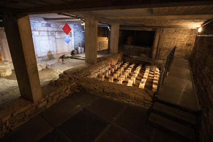Journées du patrimoine 2020 - Visite de la Domus, maison romaine de la fac de Lettres et musée Lerat