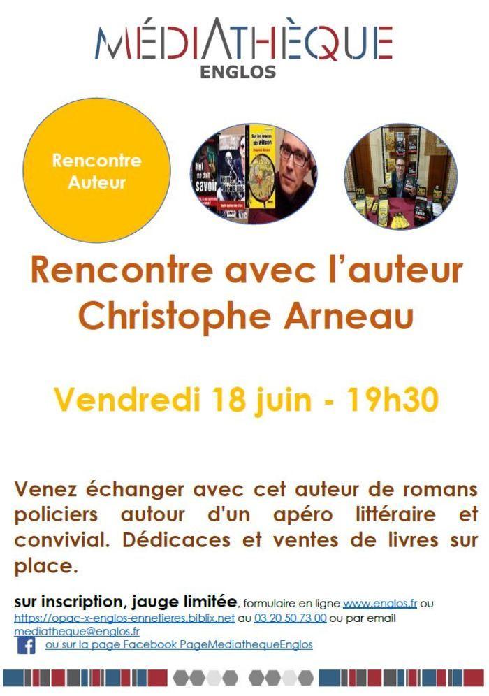 Rencontre avec l'auteur Christophe Arneau