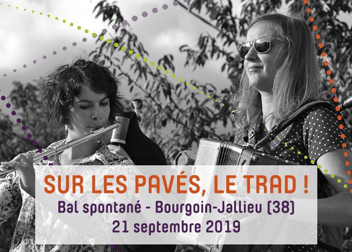 Journées du patrimoine 2019 - Sur les pavés, le trad ! Bal Itinérant