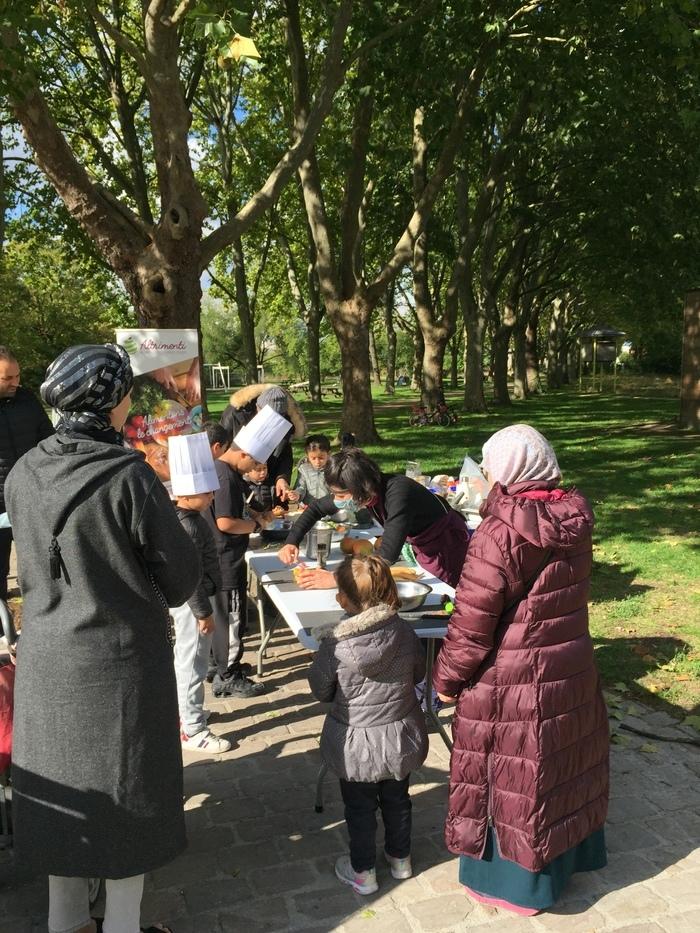 Altrimenti propose des ateliers d'initiation à la cuisine anti-gaspi pour tous