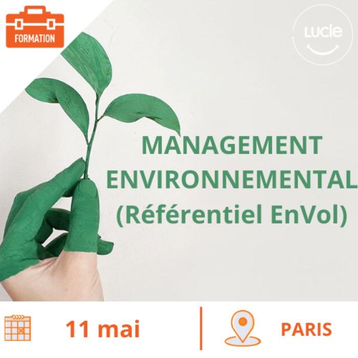 Formation : Management Environnemental pour  tous avec le référentiel EnVol