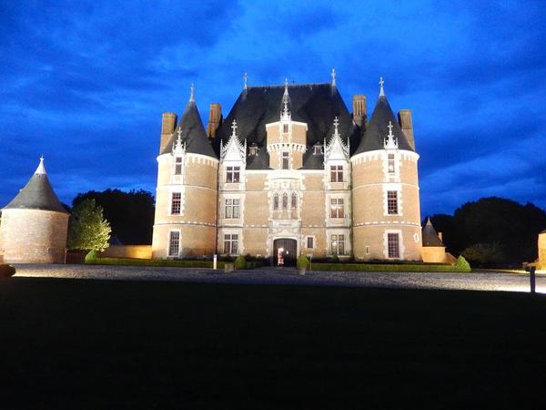 Nuit des musées 2019 -Illumination du château de Martainville