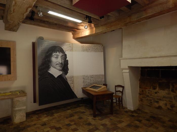 Journées du patrimoine 2019 - Visite de la Maison Descartes et découverte des oeuvres de l'Artothèque