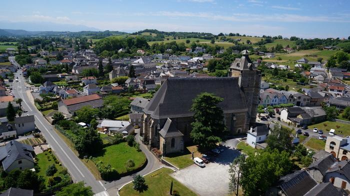 Journées du patrimoine 2019 - Visite décalée de la plus grande église gothique du Béarn et de sa charpente