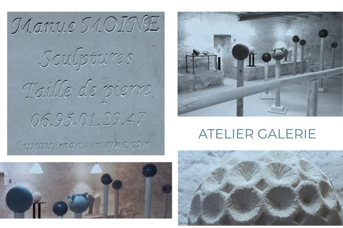 Journées du patrimoine 2020 - Ouverture de l'atelier de sculptures et de taille de pierre et de la salle d'exposition