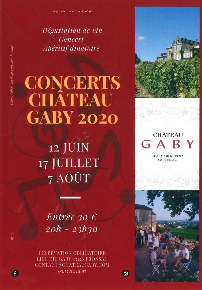 Annulé | concert au Château Gaby