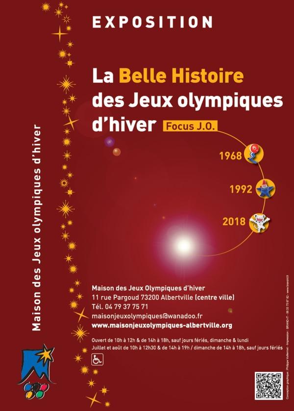 Nuit des musées 2019 -Découverte de l'exposition temporaire 2018-2019 : La Belle Histoire des Jeux olympiques d'hiver - Focus J.O. 1968, 1992, 2018