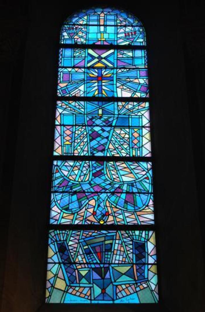 Journées du patrimoine 2020 - Visite commentée des vitraux de Jean Cocteau