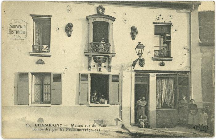 Journées du patrimoine 2019 - Balade commentée du centre ancien de Champigny-sur-Marne