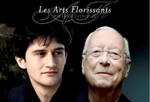"""Concert de William Christie et Théotime Langlois en clôture du festival """"Les fêtes des quatre saisons""""."""