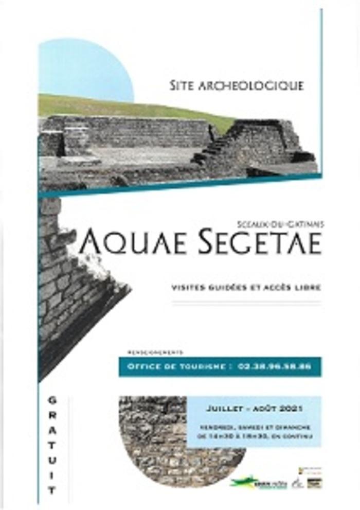 Visite guidée site archéologique Aquae Segetae