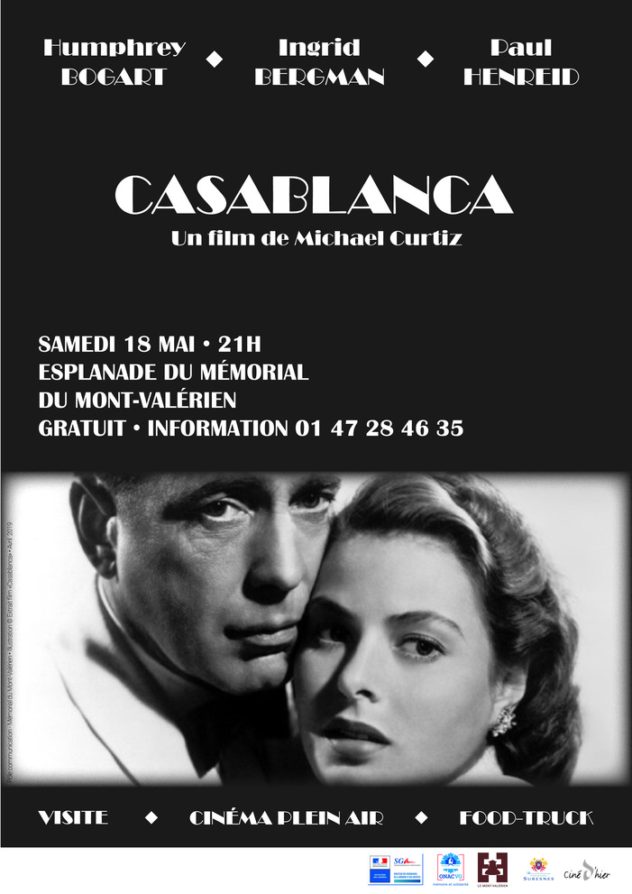 Nuit des musées 2019 -Casablanca | Cinéma en plein air
