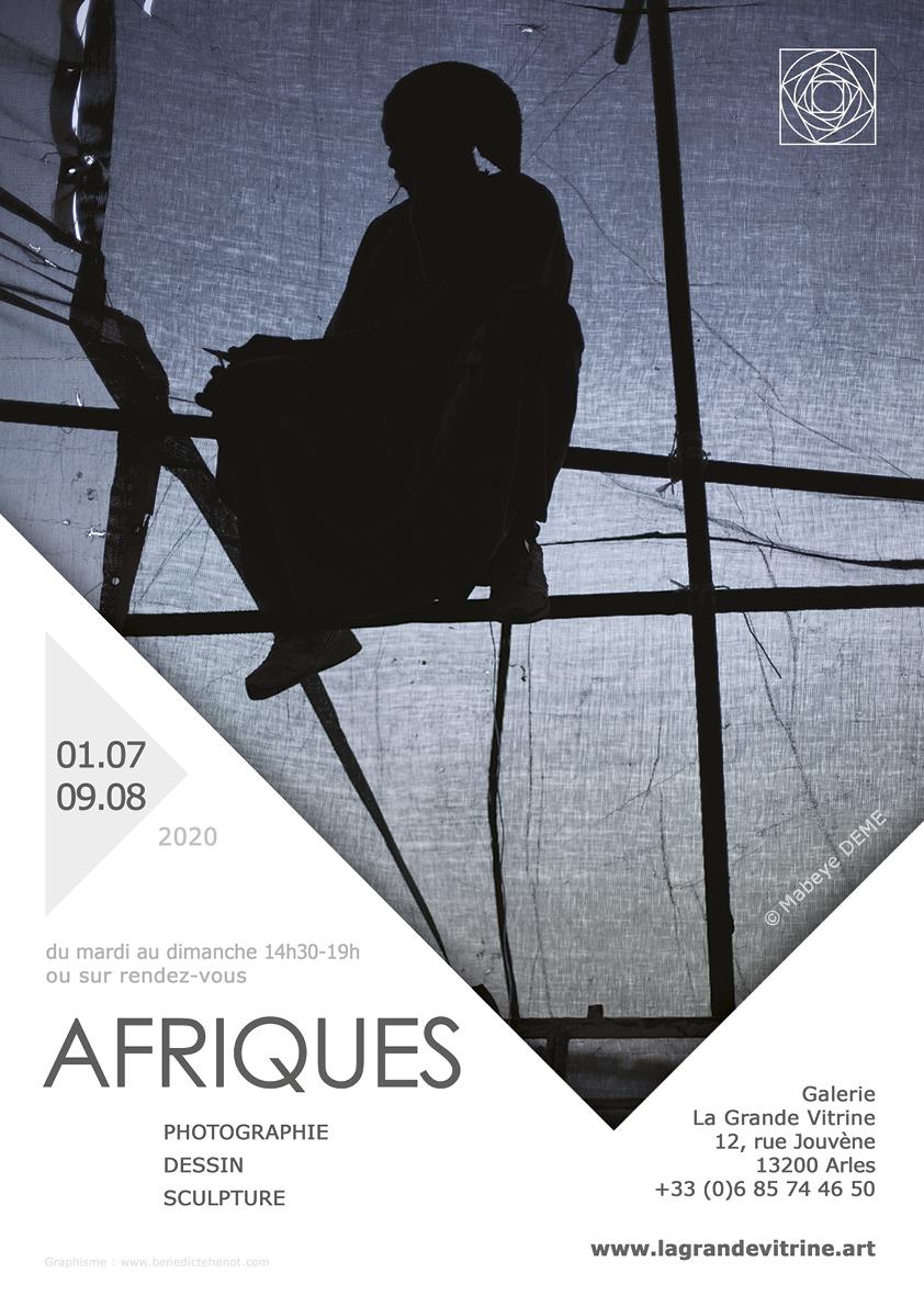 Exposition collective mettant à l'honneur des œuvres de photographie, dessin, sculpture autour de l'Afrique subsaharienne et du Maghreb.