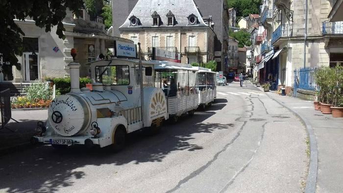 Journées du patrimoine 2020 - Visite de Plombières-les-Bains en petit train