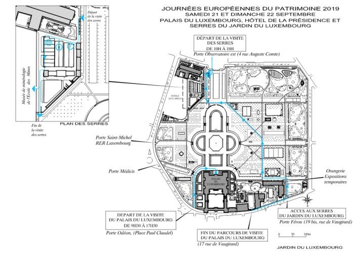 Journées du patrimoine 2019 - Ouverture exceptionnelle des serres du Jardin du Luxembourg