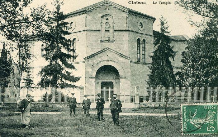 Journées du patrimoine 2020 - Visite du temple de Clairac