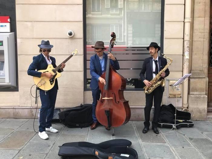 Fête de la musique 2019 - Le choeur de Curie - Mam'zelle Radium - Cat Jazz Trio