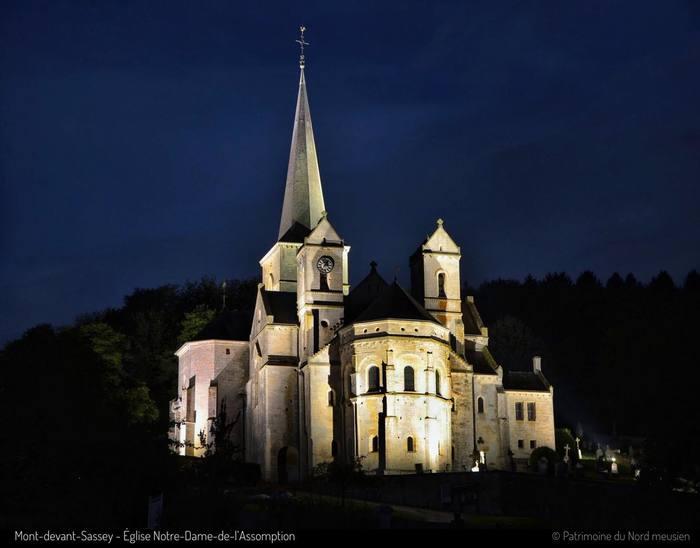 Journées du patrimoine 2019 - Visite nocturne de  l'abbatiale Notre-Dame