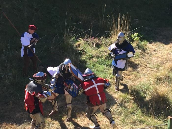 Journées du patrimoine 2019 - Béhourd, combat médiéval en armures dimanche 14.30-18.30
