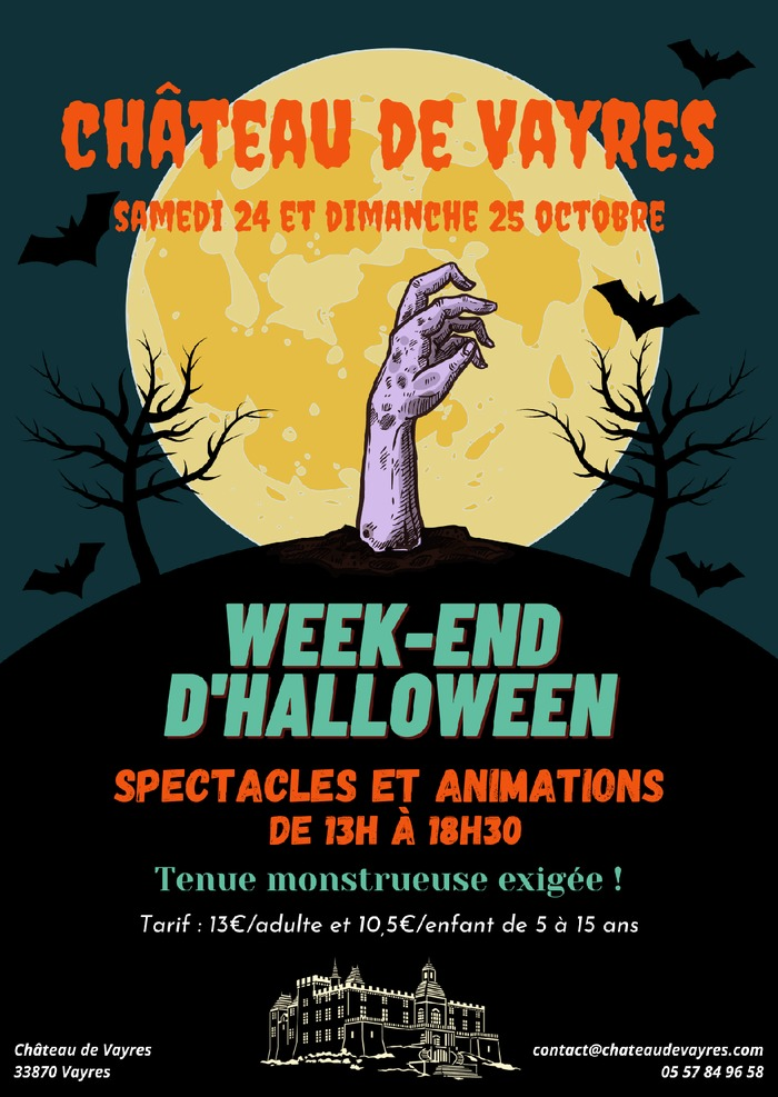 Grand week-end d'Halloween